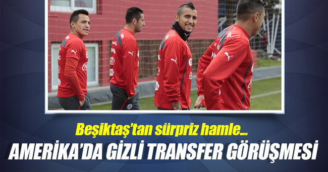 Beşiktaş, Amerika'da transfer masasına oturdu