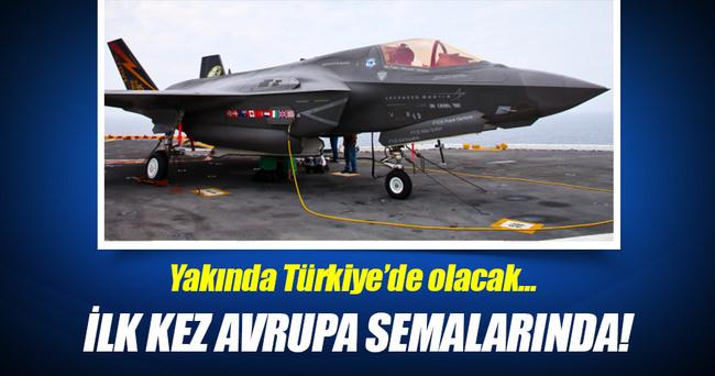 F-35'ler Hollanda'da test uçuşu yaptı!