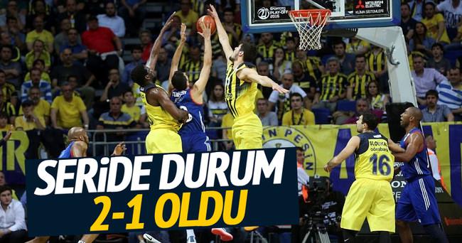 Fenerbahçe seride 2-1 öne geçti