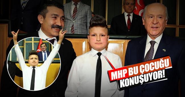 MHP bu çocuğu konuşuyor