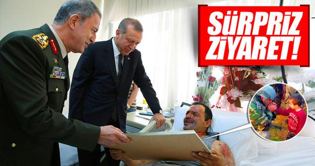 Erdoğan'dan sürpriz ziyaret