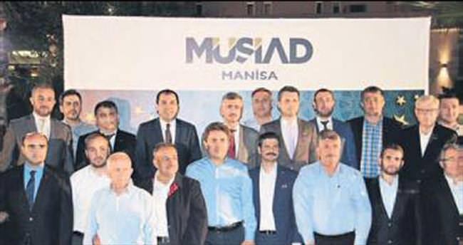 MÜSİAD Manisa iftarında teröre tepki