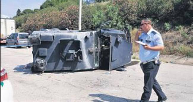 Zırhlı araç devrildi: 2'si ağır 3 polis yaralı