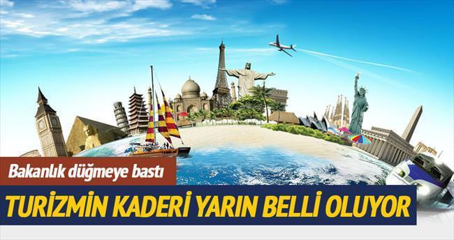 Turizme ek tedbirler yarın görüşülecek