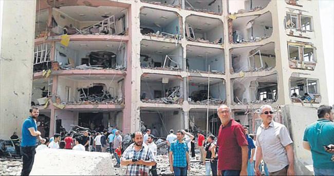 Midyat'ta hain saldırı
