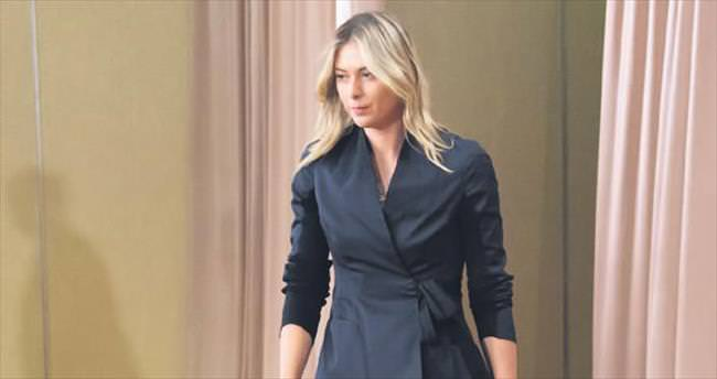 Sharapova'ya 2 yıl men
