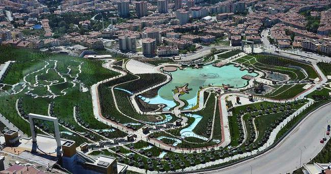 Ankara'daki dev parka 'Muhammed Ali' adı verildi