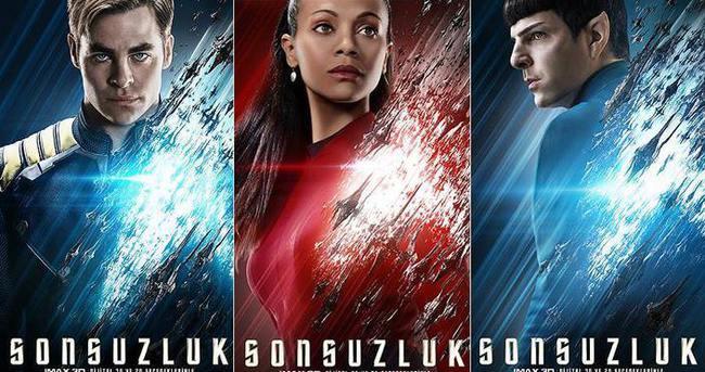 'Star Trek Sonsuzluk' filminin Türkçe afişleri yayımlandı
