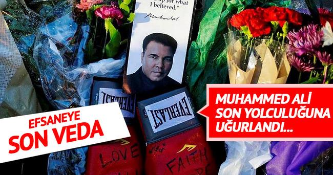 Muhammed Ali gözyaşları içinde son yolculuğuna uğurlandı