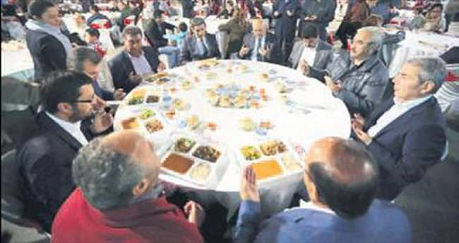 Susuz'da ilahiler eşliğinde iftar