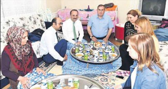 Akgül'den 2 ayrı mahalleye ziyaret