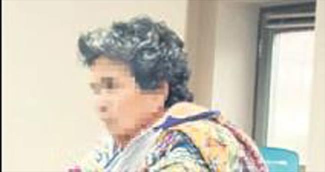 'Lahana' Emine suçüstü yakalandı