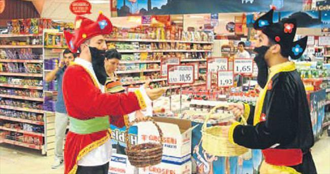 Groseri mağazalarında ramazan kampanyası
