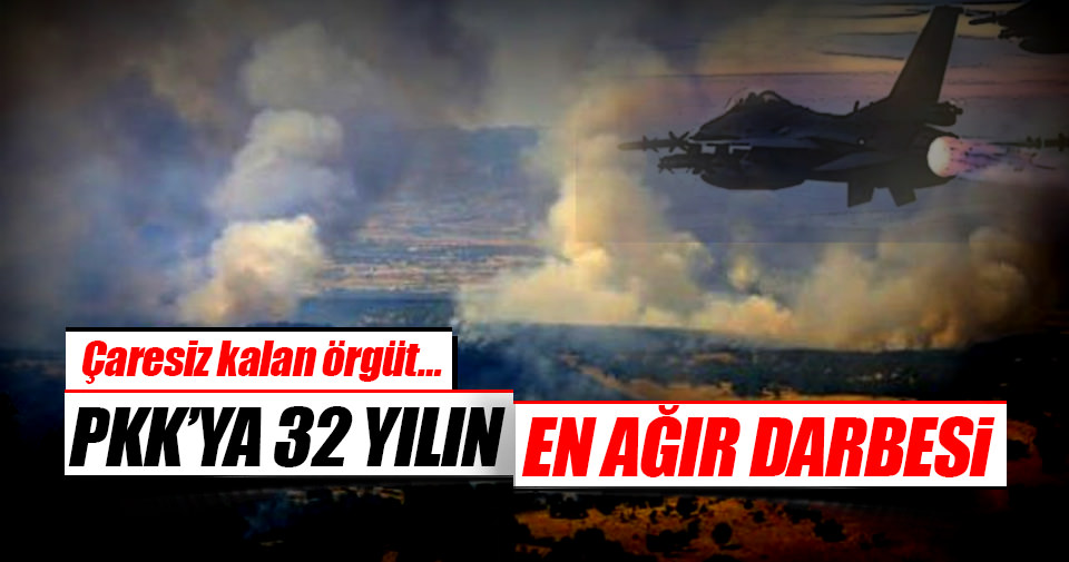 PKK'ya 325 günde büyük darbe