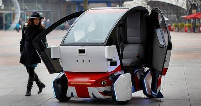'2035'e kadar 76 milyon sürücüsüz araç yollarda'