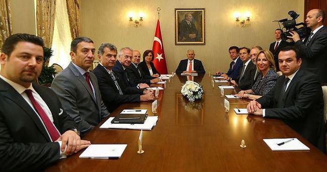 Başbakan Yıldırım TÜSİAD'ı kabul etti