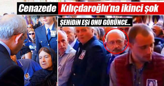 Şehidin eşi Kılıçdaroğlu'nun yanında durmadı!