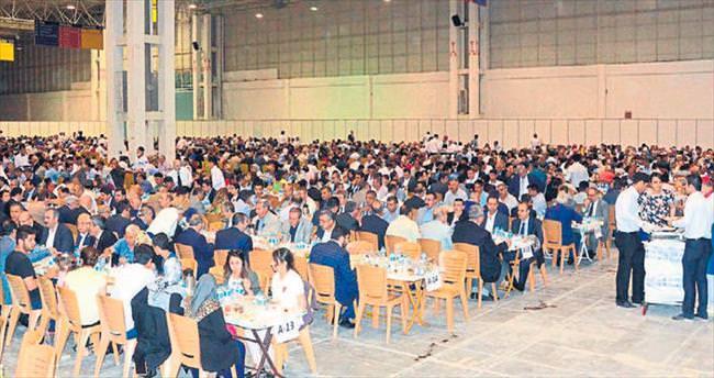 Gaziantep'te büyük iftar