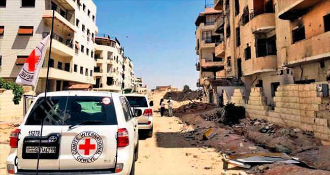 BM'den yardım rejimden bomba