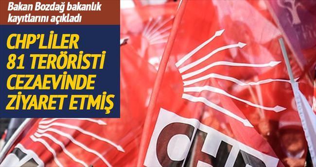 """""""CHP'liler cezaevinde 81 teröristi ziyaret etti"""""""