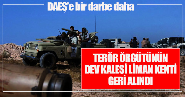 Libya'da DAEŞ'in elindeki Sirte Limanı'nın kontrolü sağlandı