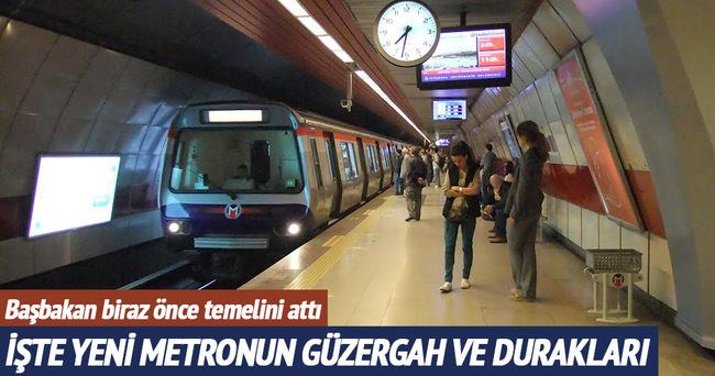 İşte Bakırköy-Kirazlı Metrosu