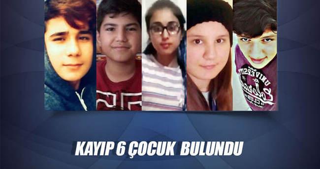 Kayıp çocuklar Sakarya'da bulundu