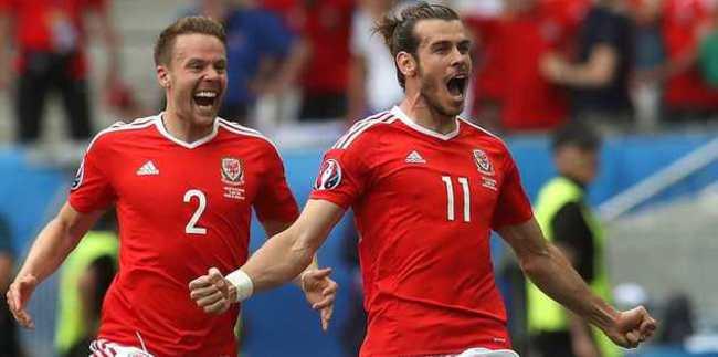 Bale attı Galler kazandı