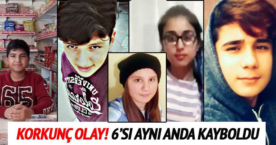 İstanbul'da 6 çocuğun birden kaybolması korkutuyor!