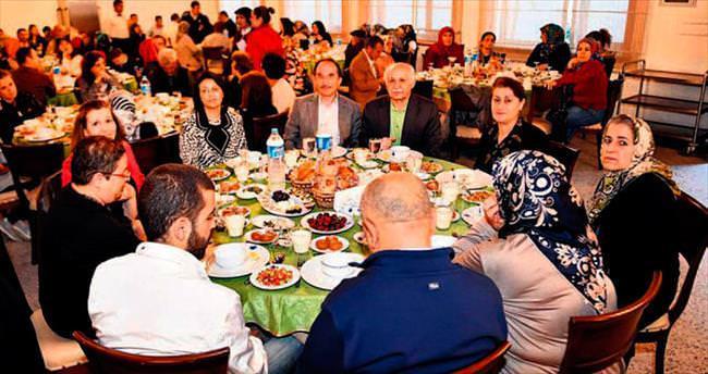 Ulucanlar'da iftar vakti