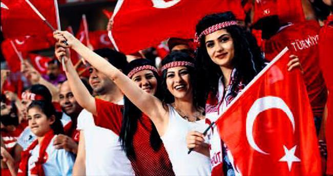 Euro 2016'da en ateşli taraftar Türkler olacak
