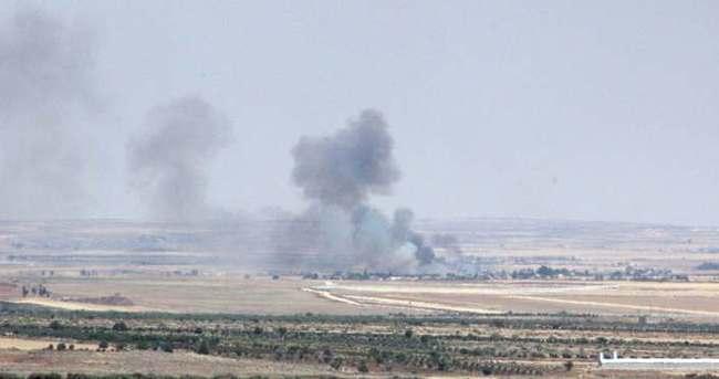 Terör örgütü DAEŞ hedefleri vuruldu