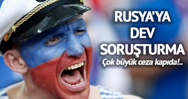UEFA, Rusya hakkında soruşturma başlattı