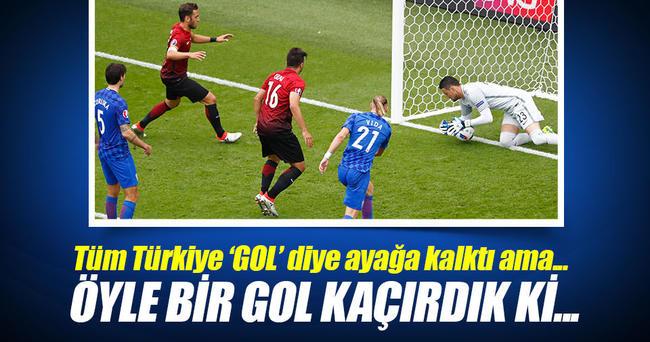 Ozan Tufan öyle bir gol kaçırdı ki...