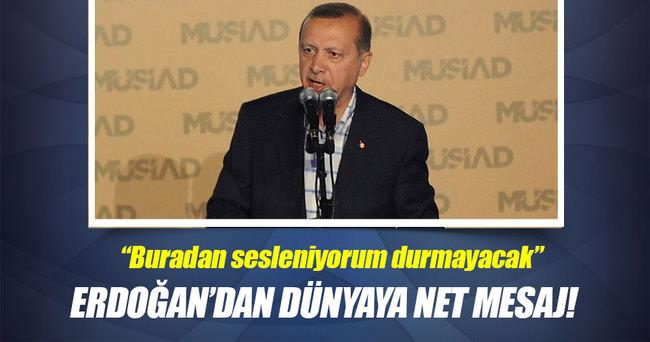 Cumhurbaşkanı Erdoğan: Huzur sağlanmadıkça operasyonlar durmayacak