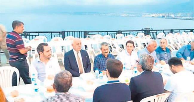 Başkan Dingil iftarda vatandaşlarla buluştu