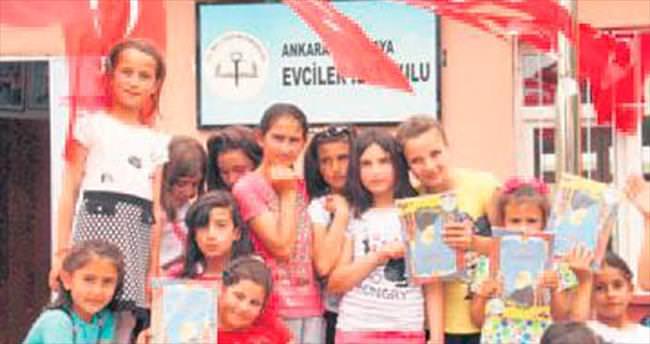 Köy okullarında yıl sonu şenliği