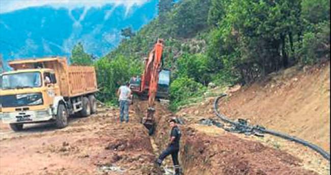 Kumluca'ya yeni içme suyu şebekesi