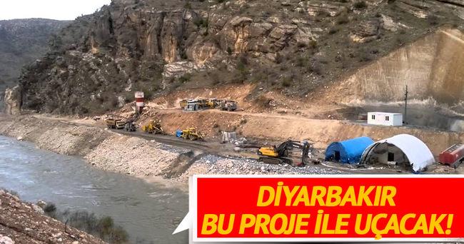 Sivan Barajı ile Diyarbakır'a 5 OSB gelecek