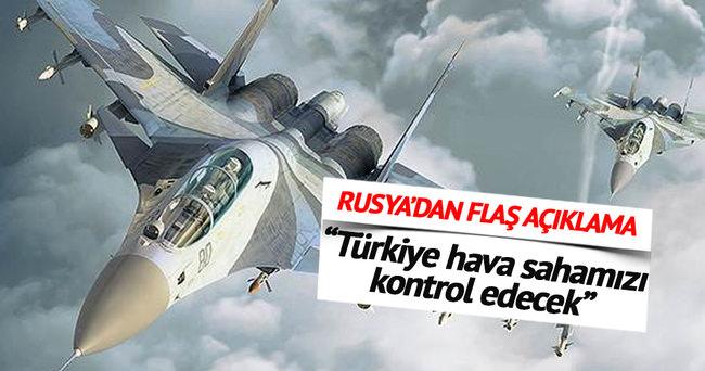 Türkiye Rus hava sahasını denetleyecek