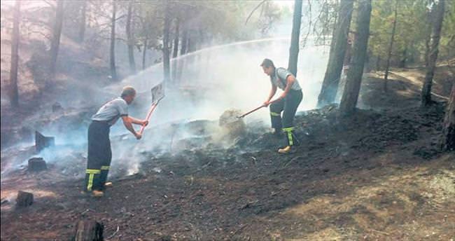 Yangınlar canımızı yakıyor