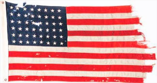 Tarihi bayrağa 514 bin dolar...