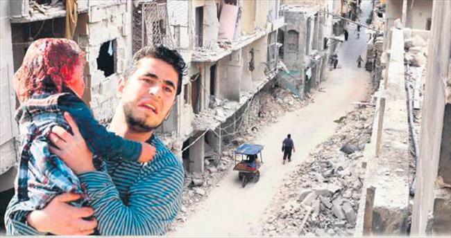 Halep'teki yıkımı onlar fotoğraflıyor