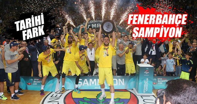 Fenerbahçe taç giydi