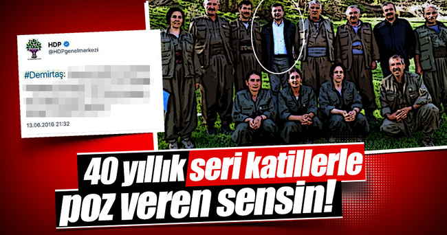 Selahattin Demirtaş'tan trajikomik paylaşım