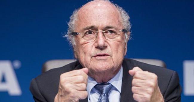 Blatter'den 'sıcak top' itirafı!