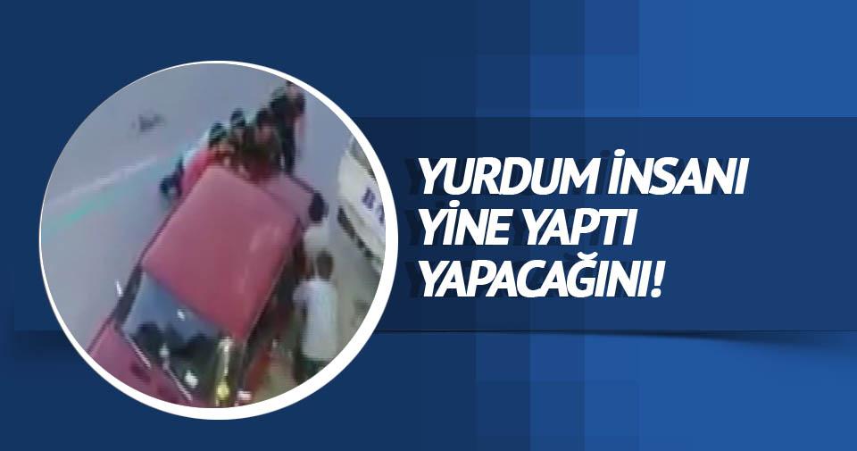 Bu da Türk usulü araba park