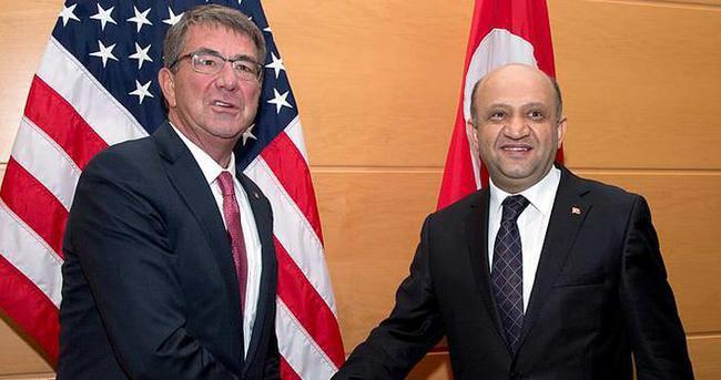 Bakan Işık NATO'da ABD Savunma Bakanı ile görüştü