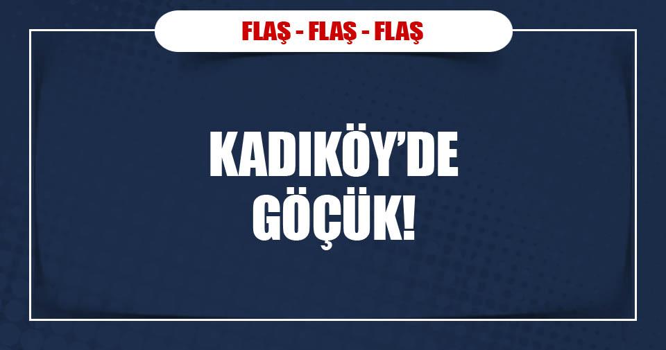 Kadıköy'de göçük