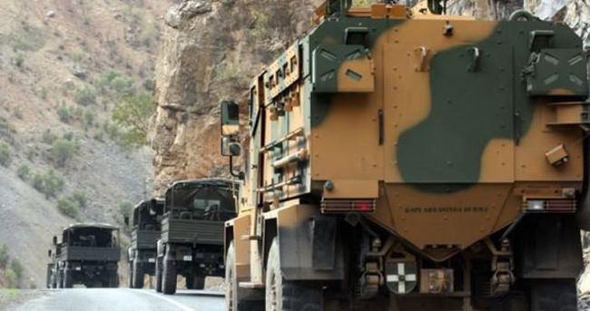 Silopi'de askeri aracın geçişi sırasında saldırı düzenlendi